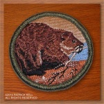 Beaver Patrol Patch, New Design